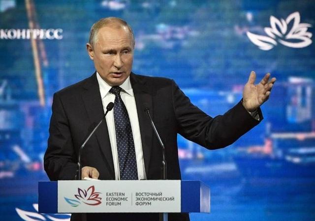 Tổng thống Putin chào hàng Mỹ vũ khí hạt nhân siêu thanh - 1