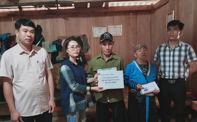 Bạn đọc Dân trí gửi tặng gia đình liệt sỹ Thao Văn Súa gần 29 triệu đồng - 3