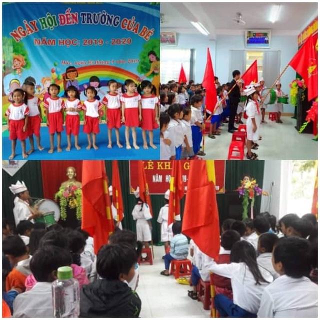 Dù mưa lũ, học sinh Quảng Trị vẫn tham gia ngày hội khai trường - 3