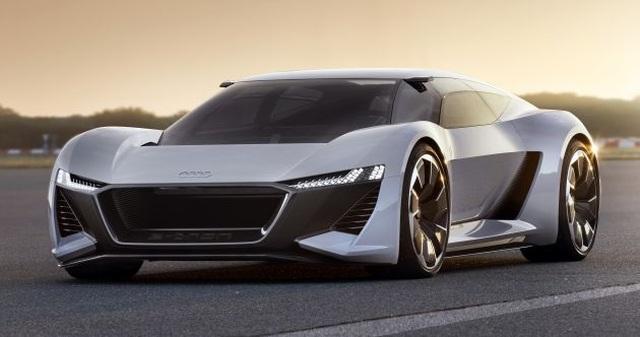 Audi dàn trận xe chạy điện - 3