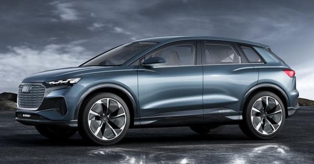 Audi dàn trận xe chạy điện - 1