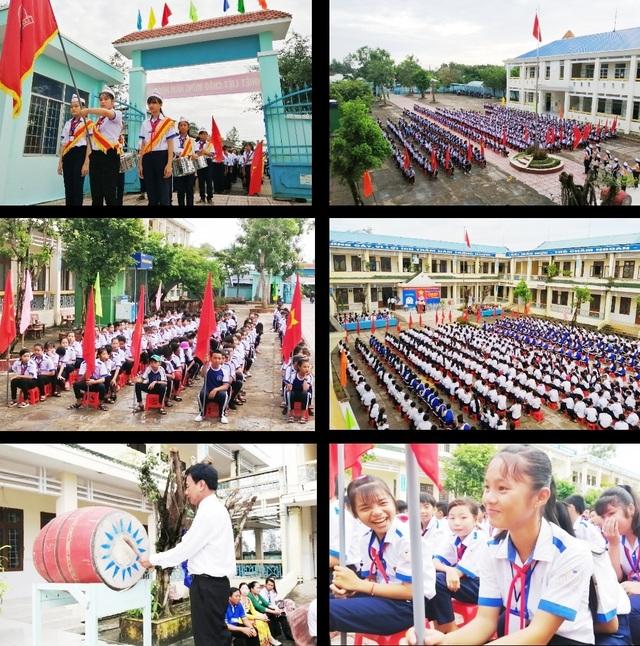 Học trò cả nước náo nức khai giảng năm học mới - 65