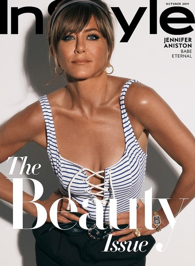 Jennifer Aniston: Tôi không muốn có tóc bạc - 1