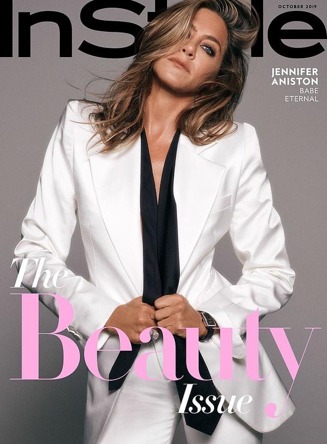 Jennifer Aniston: Tôi không muốn có tóc bạc - 5