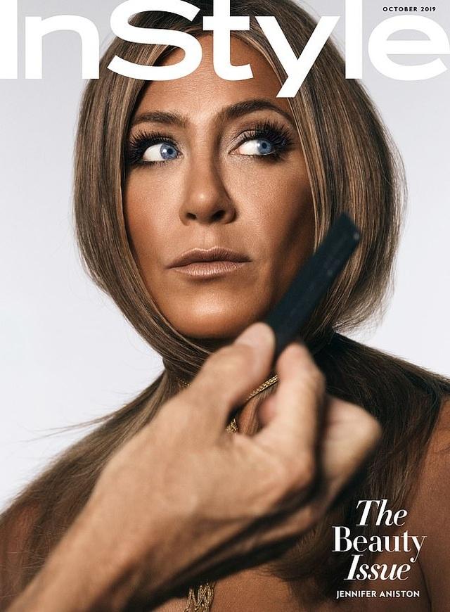 Jennifer Aniston: Tôi không muốn có tóc bạc - 6