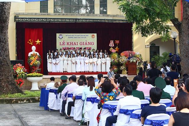 Trường THPT Chu Văn An công bố chứng nhận ID Trường thành viên Cambridge trong lễ khai giảng - 5
