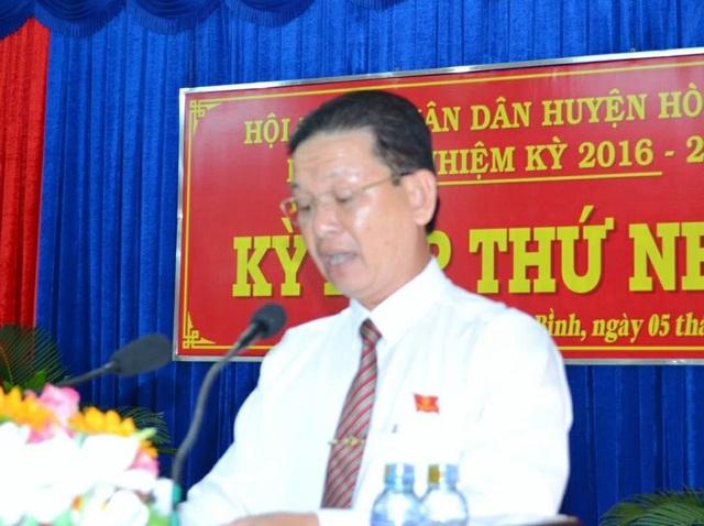 Chủ tịch HĐND huyện vừa bị kỷ luật được bổ nhiệm làm Trưởng Ban Tuyên giáo - 1