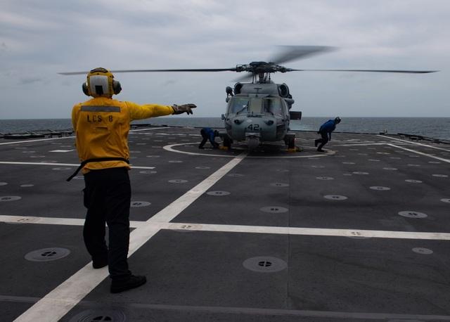 Những hình ảnh đầu tiên về diễn tập hàng hải Mỹ - ASEAN - 3