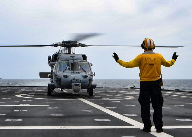 Những hình ảnh đầu tiên về diễn tập hàng hải Mỹ - ASEAN - 4