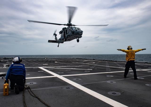 Những hình ảnh đầu tiên về diễn tập hàng hải Mỹ - ASEAN - 5
