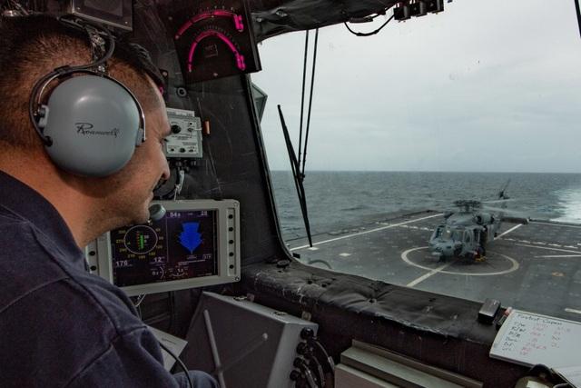 Những hình ảnh đầu tiên về diễn tập hàng hải Mỹ - ASEAN - 6
