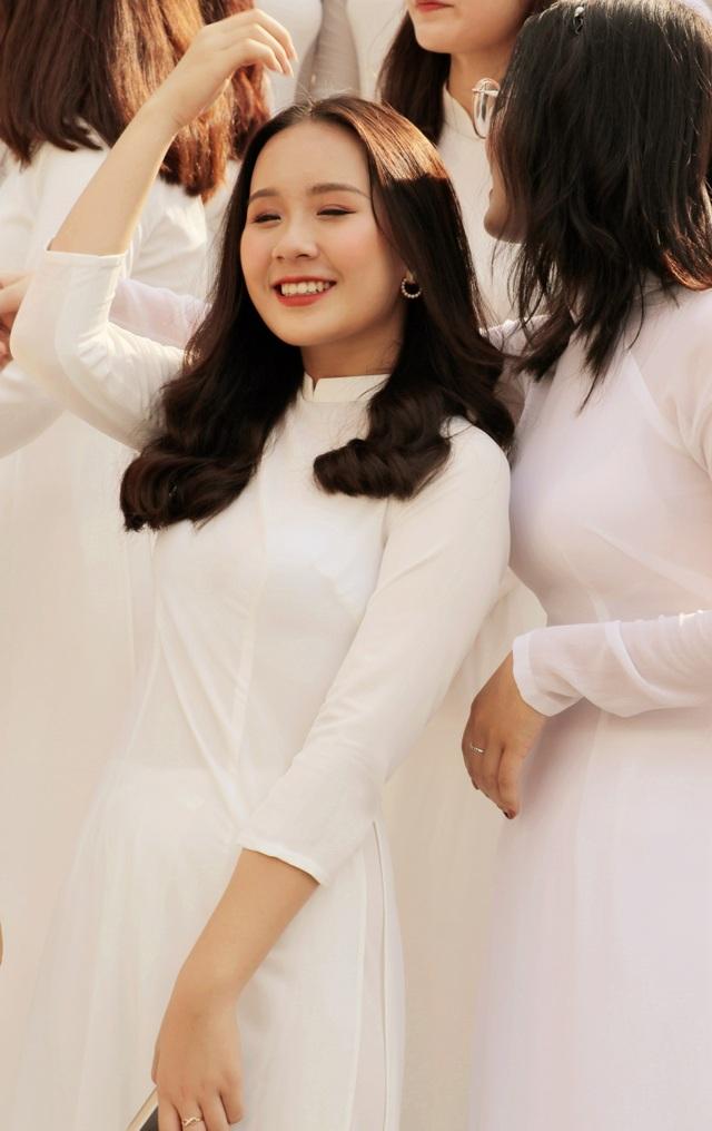 Nữ sinh Hà thành trong tà áo dài trắng gây thương nhớ ngày khai giảng - 18