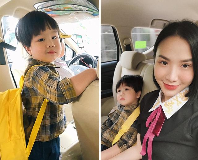 Sao Việt đưa con đến trường ngày khai giảng - 10