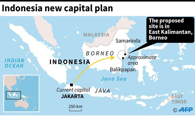 Kế hoạch 33 tỷ USD biến vùng đất ngủ yên thành thủ đô mới của Indonesia - 2