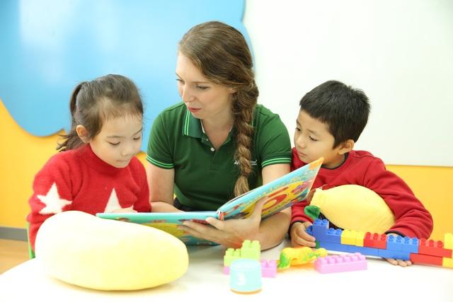 Trẻ mẫu giáo học tiếng Anh qua truyện kể như thế nào? - 2