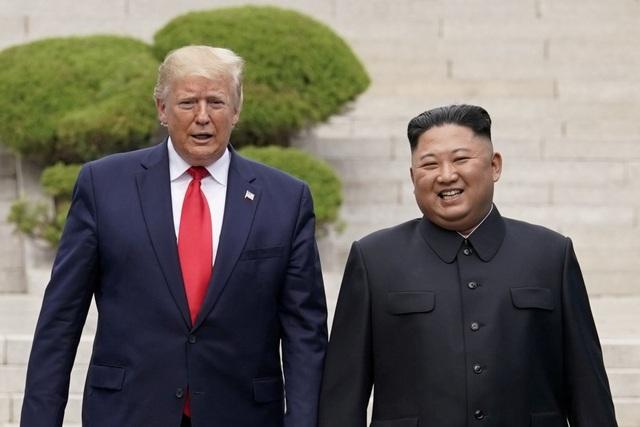 Ông Trump nói Mỹ không tìm cách thay đổi chế độ tại Triều Tiên  - 1