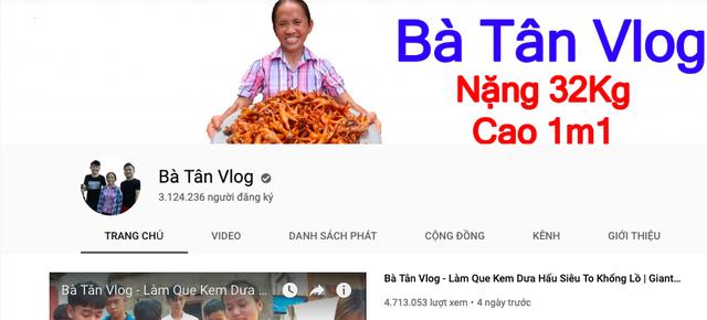 """Bà Tân """"Vlog"""" nhận tiền quảng cáo từ Youtube: Có thật đạt 300 triệu đồng/tháng? - 7"""