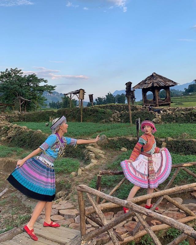 Bộ ba hot girl Chi Pu - Quỳnh Anh Shyn - Sun HT tấu hài cực lầy ở Sapa - 9