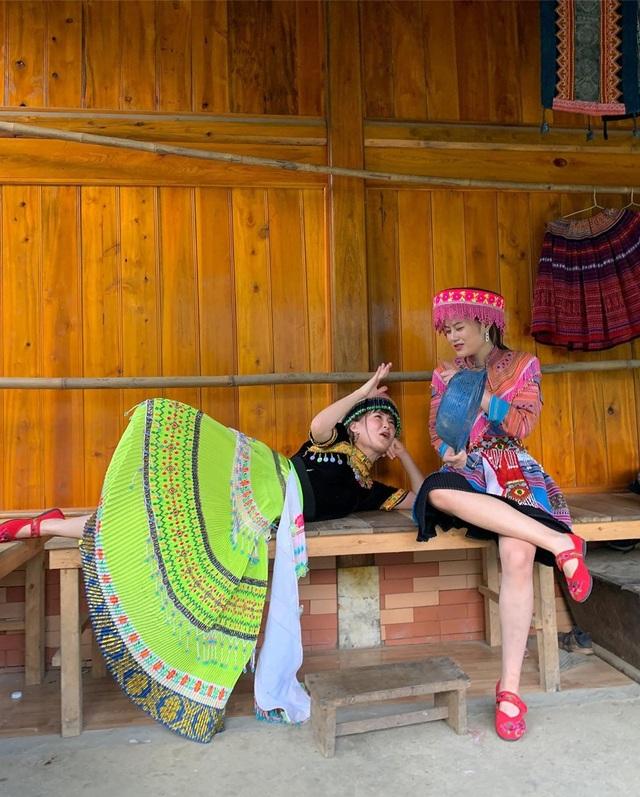 Bộ ba hot girl Chi Pu - Quỳnh Anh Shyn - Sun HT tấu hài cực lầy ở Sapa - 6