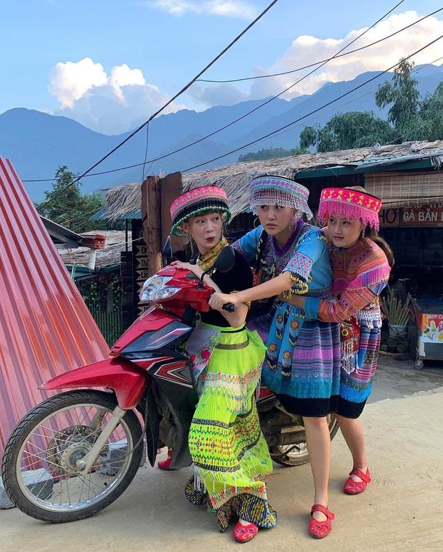 Bộ ba hot girl Chi Pu - Quỳnh Anh Shyn - Sun HT tấu hài cực lầy ở Sapa - 4