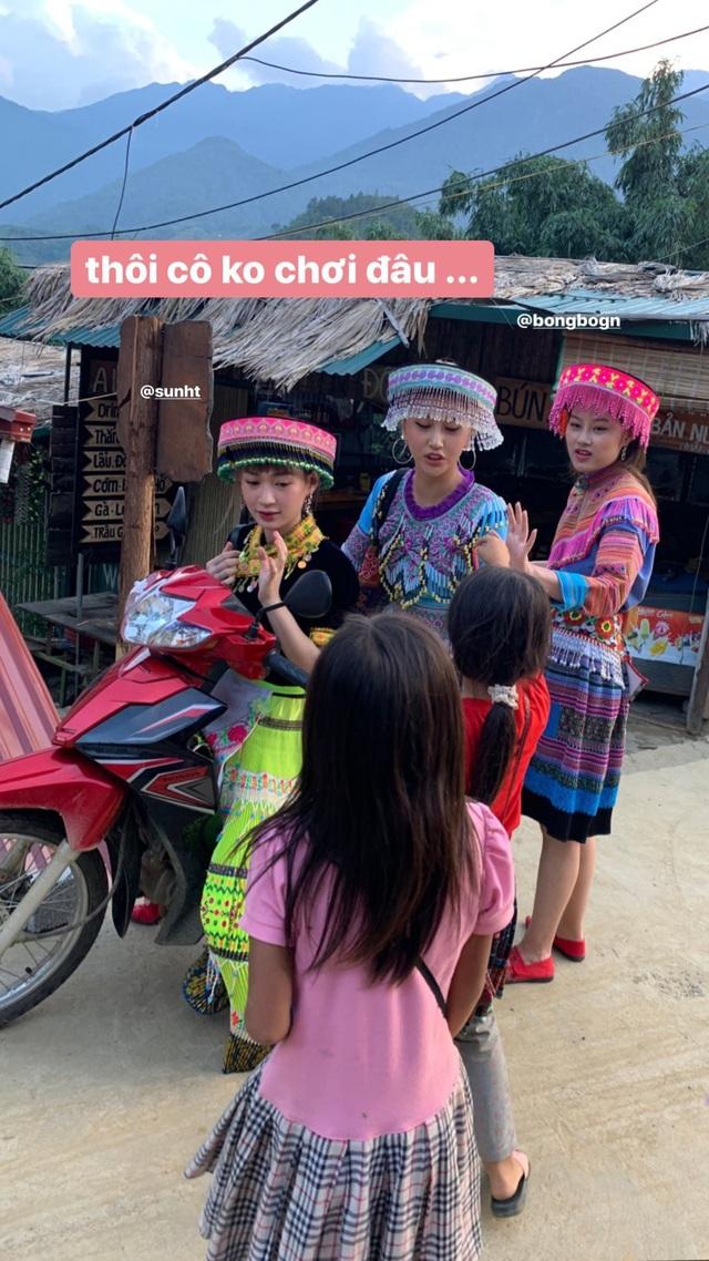 Bộ ba hot girl Chi Pu - Quỳnh Anh Shyn - Sun HT tấu hài cực lầy ở Sapa - 5