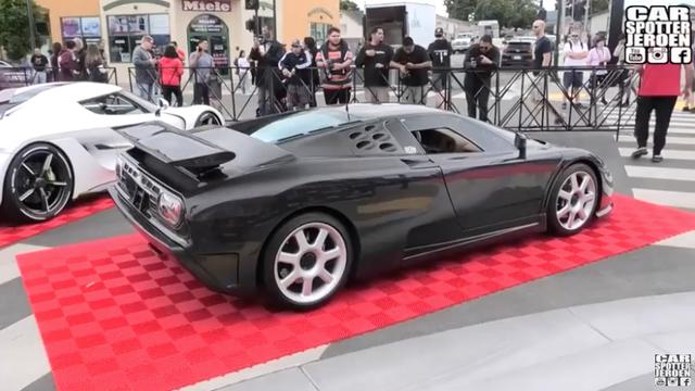 Chiêm ngưỡng chiếc Bugatti EB110 SS duy nhất trên thế giới toàn thân bằng sợi carbon - 1