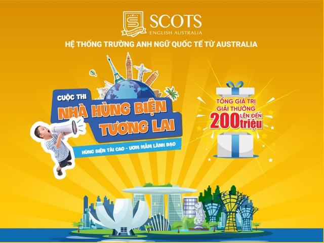 """Scots English Australia trao cơ hội bước ra thế giới cho thí sinh """"Nhà hùng biện tương lai"""" - 1"""