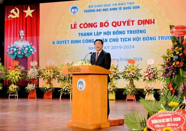 Bộ GDĐT công nhận Chủ tịch Hội đồng Trường - trường ĐH Kinh tế quốc dân - 3