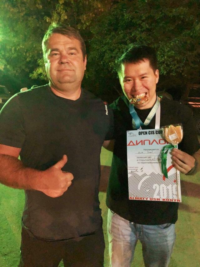 Chàng trai 9X Việt vô địch giải Dù lượn CIS mở rộng 2019 tại Kazakhstan - 3