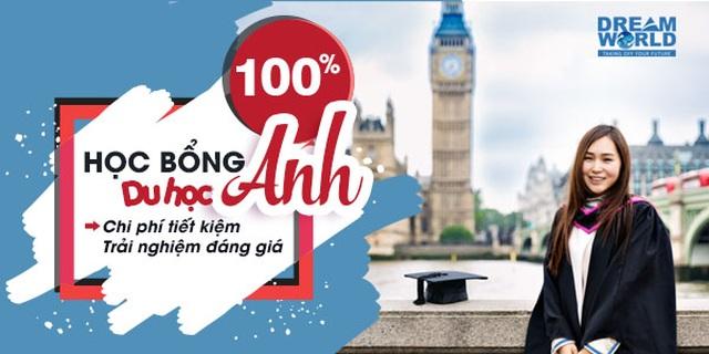Học bổng Phổ thông, Dự bị, Đại học lên tới 100% học phí tại Anh Quốc - 1
