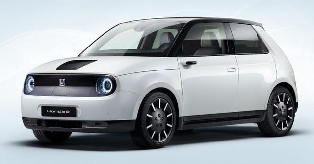 Những hình ảnh chính thức đầu tiên của xe chạy điện Honda e - 1