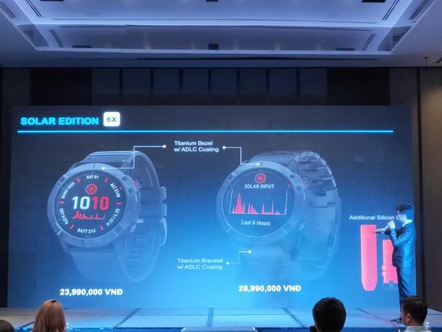 Garmin ra mắt đồng hồ dùng pin năng lượng mặt trời Fenix 6 series, giá 28,99 triệu đồng - 7