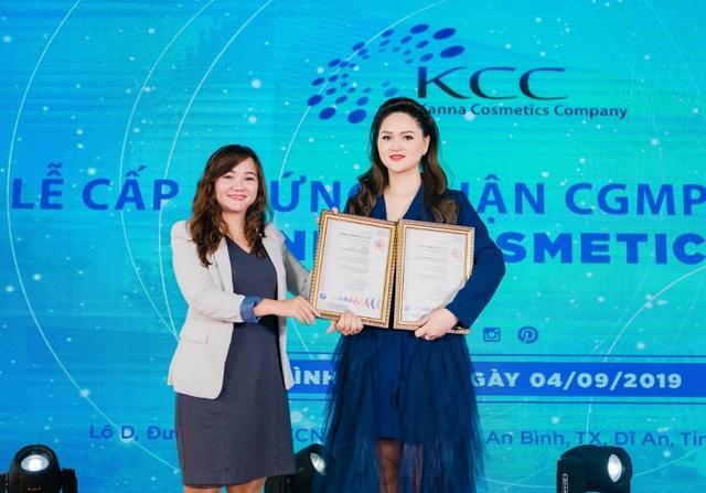 Kanna Cosmetics khánh thành nhà máy sản xuất mỹ phẩm theo tiêu chuẩn CGMP – ASEAN - 5