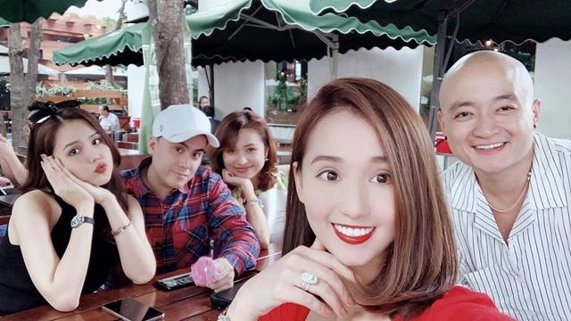 Ở tuổi 34, Lã Thanh Huyền ngày càng sang chảnh bên hội bạn thân - 5