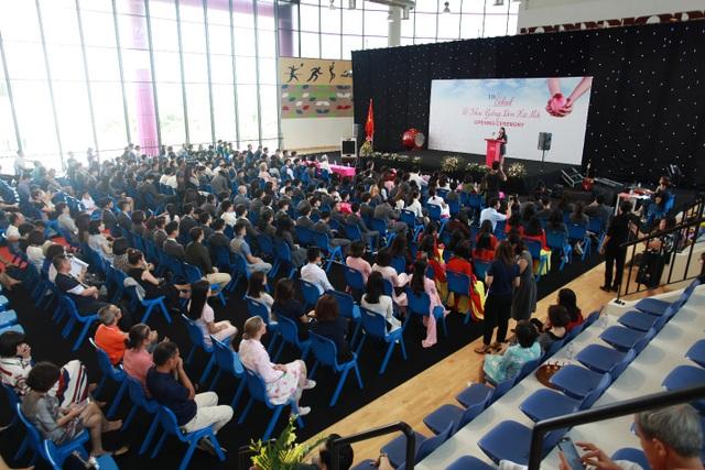 Lễ khai giảng tại trường nội trú theo mô hình quốc tế - 1