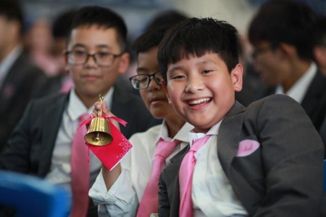 Lễ khai giảng tại trường nội trú theo mô hình quốc tế - 2