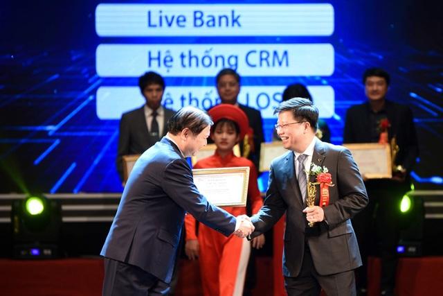 TPBank được vinh danh là ngân hàng xuất sắc trong chuyển đổi số - 1