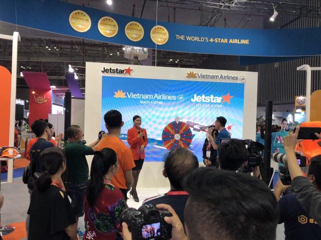 Vé máy bay 11.000 đồng của Jetstar Pacific hút khách tại Hội chợ quốc tế Du lịch - 3