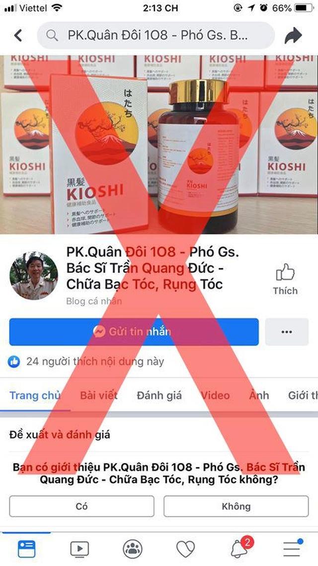 Nhan nhản quảng cáo thuốc treo đầu dê bán thịt chó trên mạng xã hội - 2