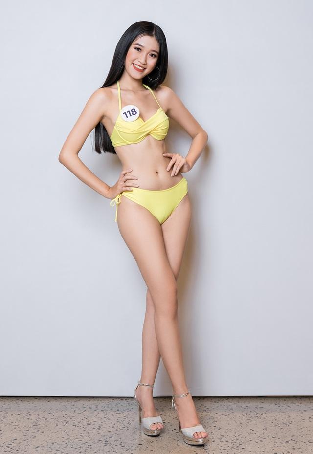 Thúy Vân cùng dàn thí sinh Hoa hậu Hoàn vũ Việt Nam gợi cảm với bikini - 18