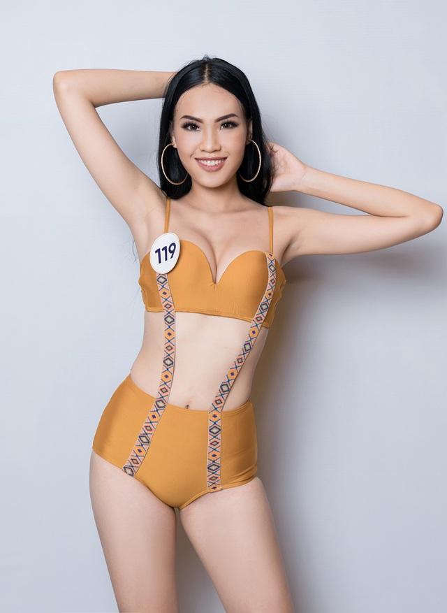 Thúy Vân cùng dàn thí sinh Hoa hậu Hoàn vũ Việt Nam gợi cảm với bikini - 22