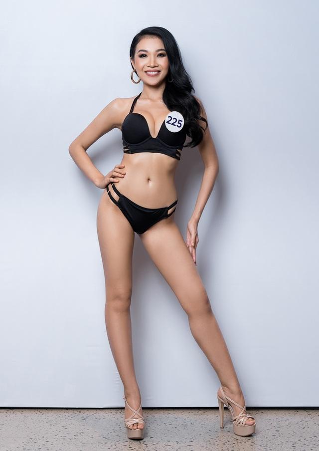 Thúy Vân cùng dàn thí sinh Hoa hậu Hoàn vũ Việt Nam gợi cảm với bikini - 7