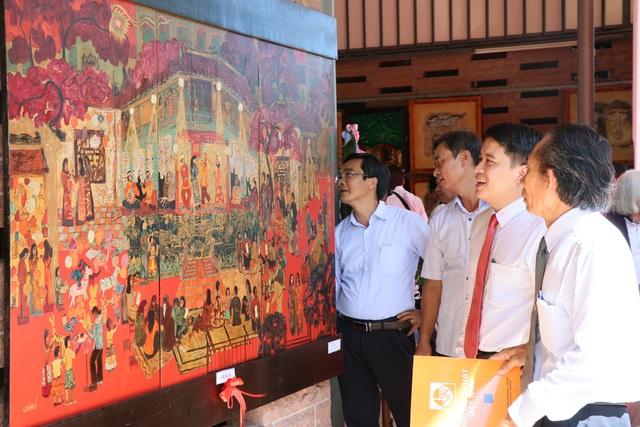 """Triển lãm mỹ thuật """"Di sản văn hóa"""" tại Mỹ Sơn"""