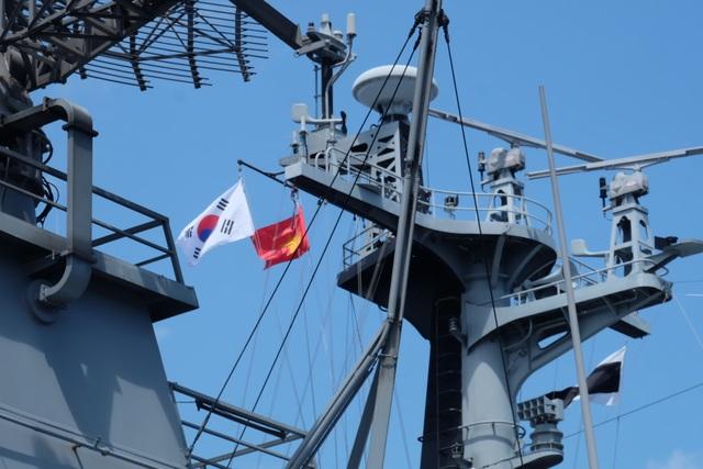 Tàu huấn luyện hải quân Hàn Quốc thăm xã giao Đà Nẵng - 8