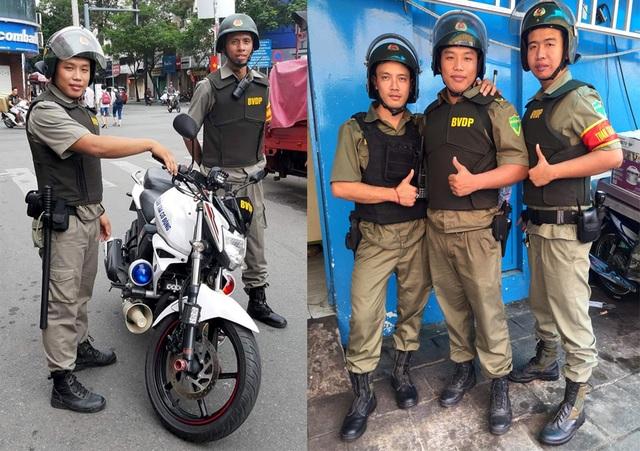 Ban bảo vệ dân phố duy nhất ở Sài Gòn được trang bị áo giáp chống đạn - 1