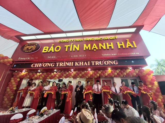 Bảo Tín Mạnh Hải khai trương cửa hàng vàng thứ 4 tại Hà Nội - 1