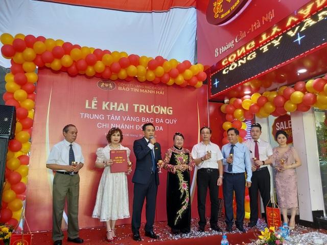 Bảo Tín Mạnh Hải khai trương cửa hàng vàng thứ 4 tại Hà Nội - 3