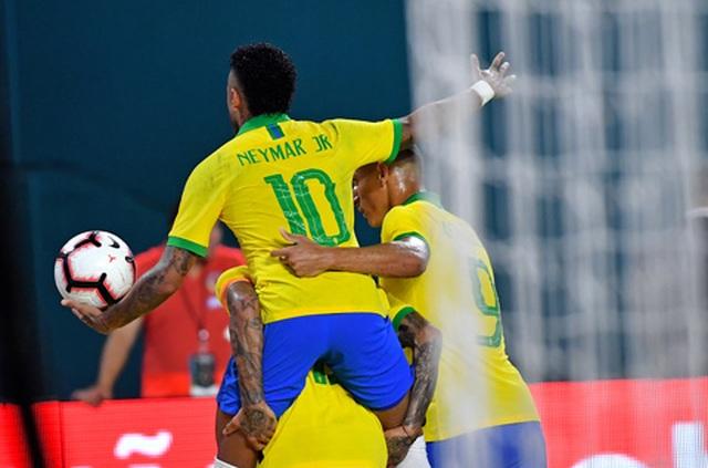 Brazil 2-2 Colombia: Neymar ghi bàn, Brazil vẫn hòa thất vọng - 2