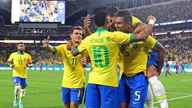 Brazil 2-2 Colombia: Neymar ghi bàn, Brazil vẫn hòa thất vọng - 1