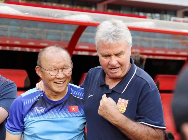 """HLV Guus Hiddink: """"Tôi vui vì được tái ngộ HLV Park Hang Seo"""" - 1"""